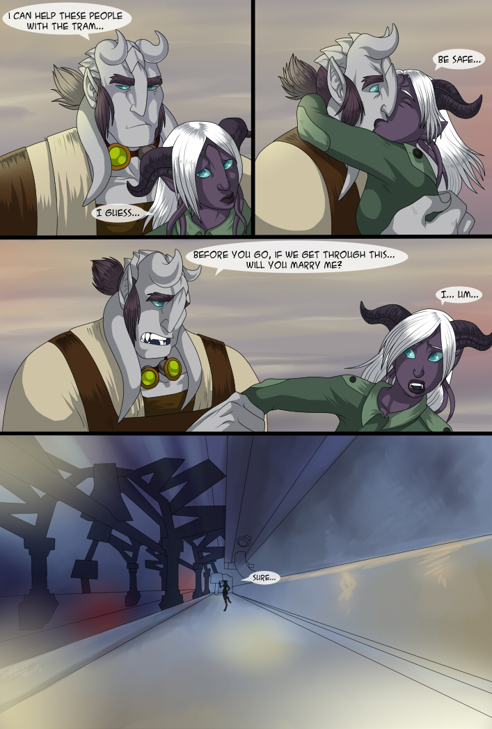 Beneath the shadow part 10